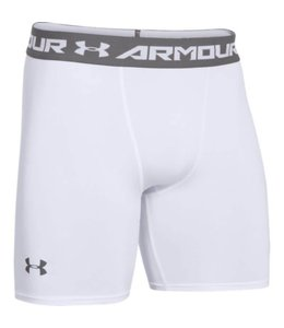 Under Armour Heatgear Armour Comp Short Heren Wit