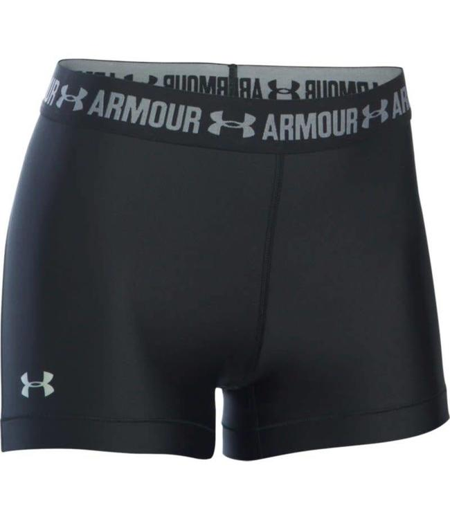 Under Armour Heatgear Armour Shorty Ladies Zwart