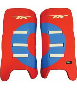TK Total Three GLX 3.1 Legguards Rot/Sky
