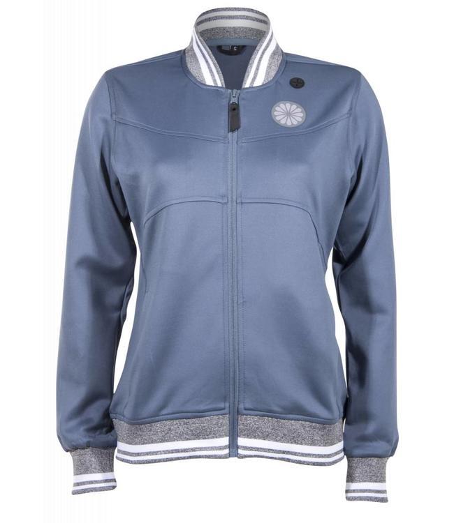 Indian Maharadja Women's tech jacket Steel Blue