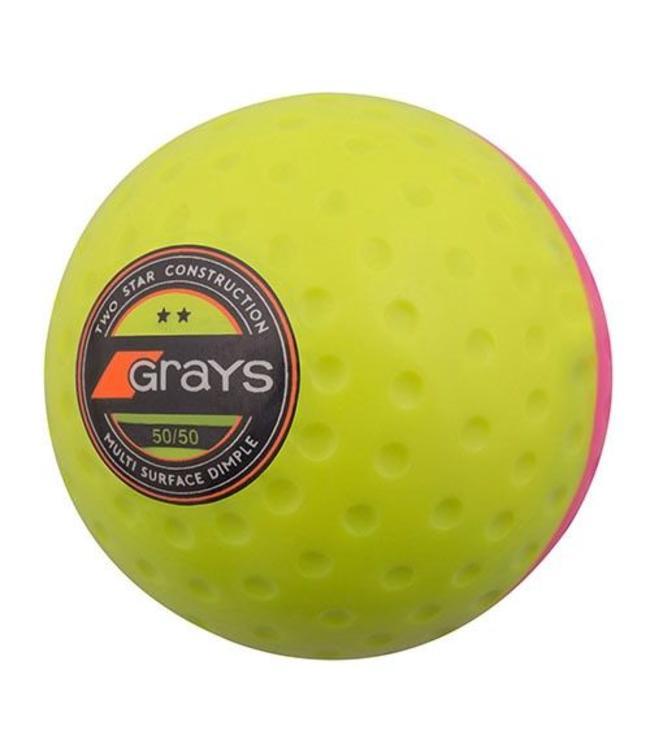 Grays Bal 50/50 Gelb / Rosa