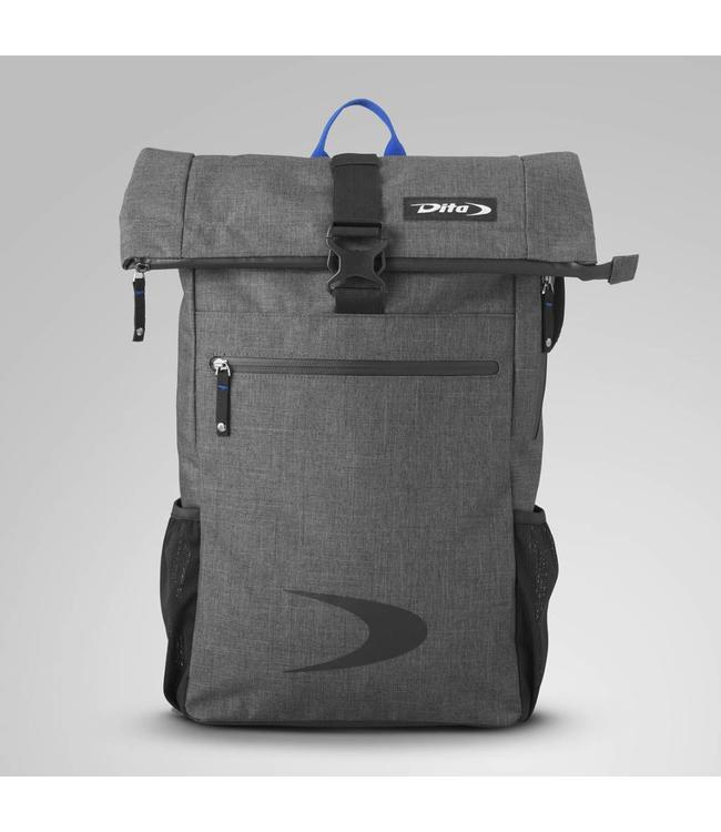 Dita Backpack Messenger Blauw/Donkergrijs