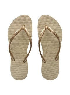 Havaianas SLIM | sand grey/light golden