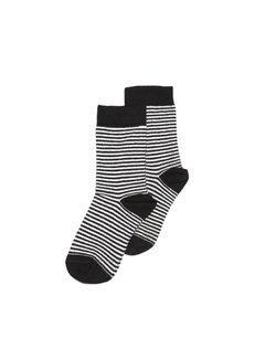 MINGO Socks | striped/black