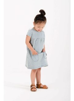 Sproet&Sprout DRESS DENIM STRIPE S18-635 | denim