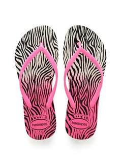 Havaianas SLIM ANIMALS 4103352.8519 | white/shocking pink