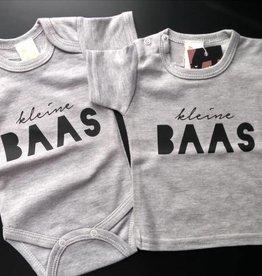 Kleine Baas T-shirt of romper