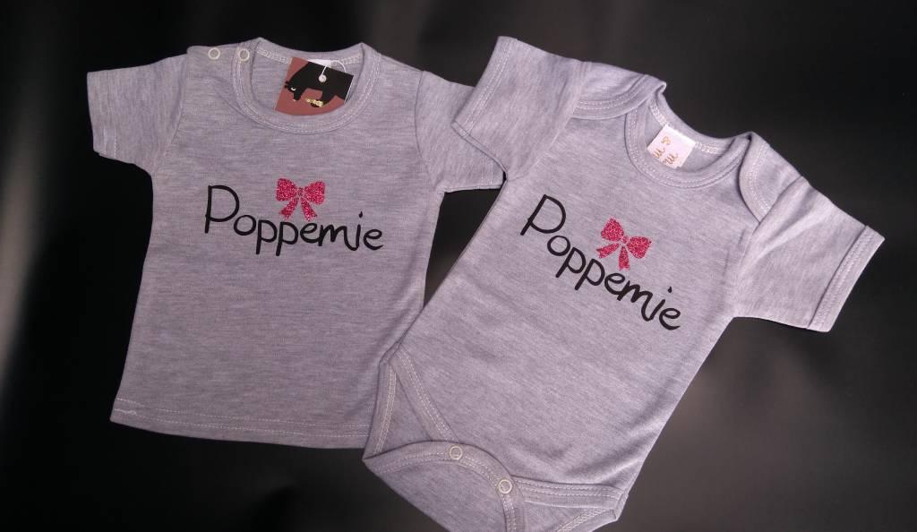 Poppemie T-shirt of romper