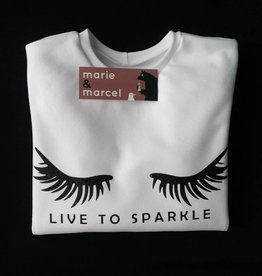 Sweater 'LIVE TO SPARKLE'