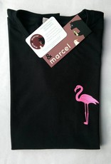 T-shirt Glitter Flamingo