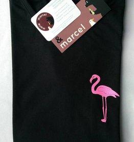 T-shirt Glitter Flamingo
