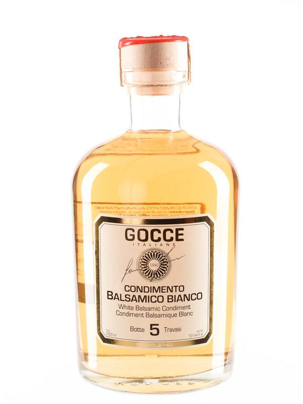 Acetaia GOCCE | White Balsamic condiment 5 year | Magnum | 3000 ml