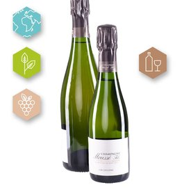 Champagne Moussé Fils | France | Champagne Champagne Moussé Fils | Cuvée  L'Or d'Eugène Champagne A.O.C. | 37.5 cl (80% Pinot Meunier, 20 % Pinot Noir | 8g/l)