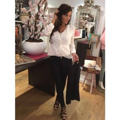 Glamorous Step Blouse White