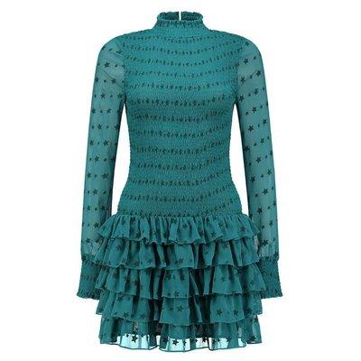 NIKKIE Romy Dress Petrol