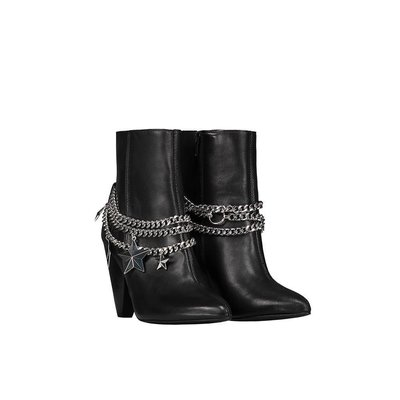 NIKKIE Chain Ankle Boots