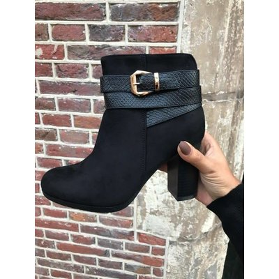 Jaimy Make Moves Ankle Boots Black
