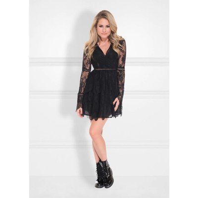 NIKKIE rani dress  black