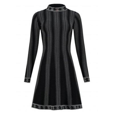 NIKKIE Jaz Jintha Dress Black White