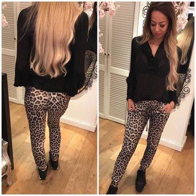 MET Jeans MET leopard pants
