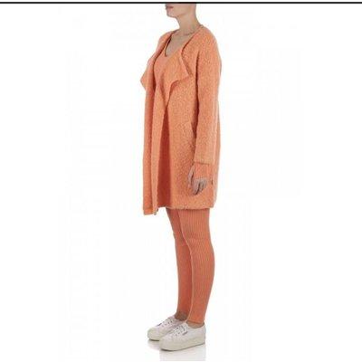 Reinders OS vest short melon orange