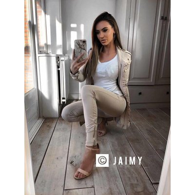 MET Jeans Elenuar beige