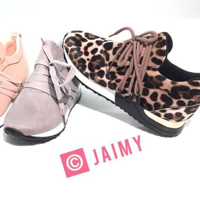 Jaimy Inspired Leopard sneakers