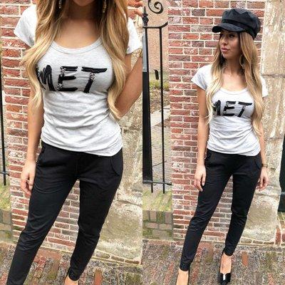 MET Jeans Tary t shirt grey