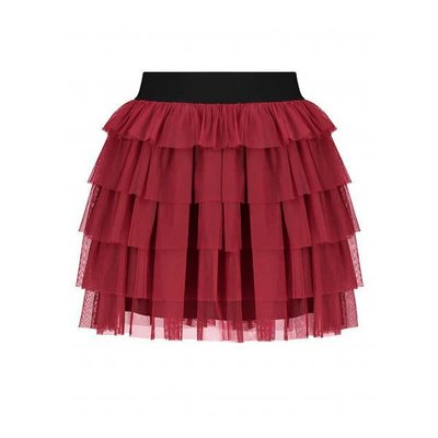 NIKKIE Runa mini skirt wine