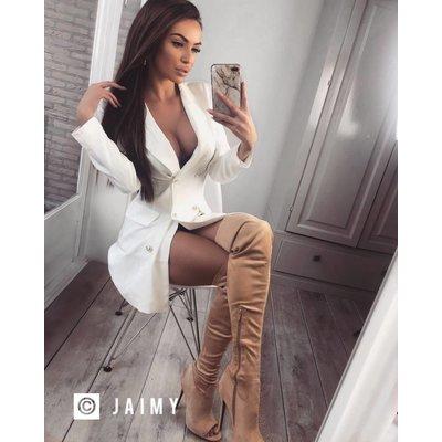 Jaimy Gorgeous 2 waystowear white