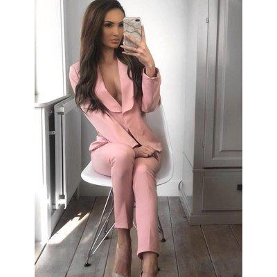 Jaimy Zary suit pink