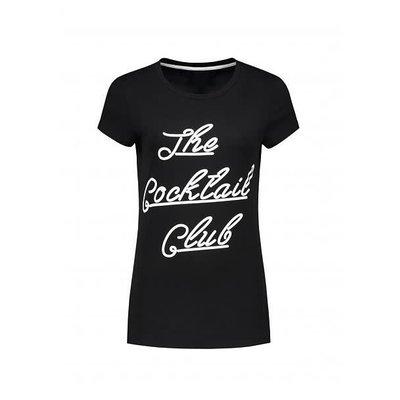 NIKKIE The cocktail club t shirt black