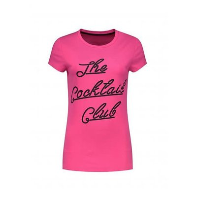 NIKKIE The cocktail club t shirt Miami pink