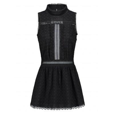 NIKKIE Rollin open back dress black