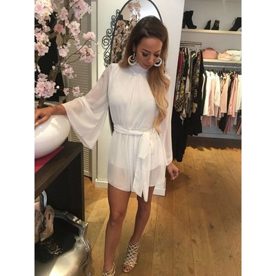 Jaimy Multi way playsuit white