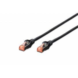 S-FTP kabel gegoten CAT 6 zwart