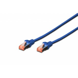 S-FTP kabel gegoten CAT 6 blauw
