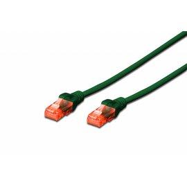UTP kabel gegoten CAT 6 groen