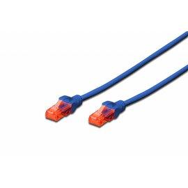 UTP kabel gegoten CAT 6 blauw