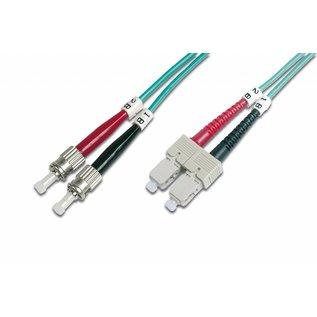 Glasvezelkabel OM3 50/125 Multimode   ST/SC