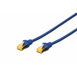 S-FTP kabel gegoten CAT 6A blauw