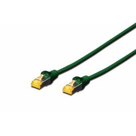 S-FTP kabel gegoten CAT 6A groen