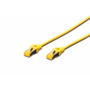 S-FTP kabel gegoten CAT 6A geel
