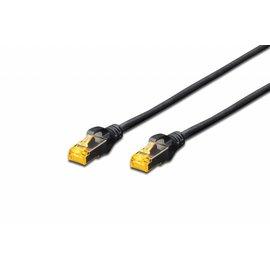 S-FTP kabel gegoten CAT 6A zwart