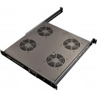 """Digital temperature controle unit 19"""" 1HE incl 4- fans"""