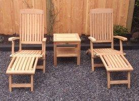 Ligstoel New Ocean Deckchair