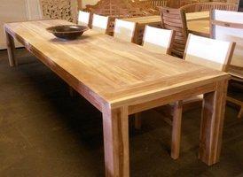 Teak houten tuintafel Napoli 400cm