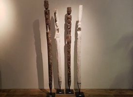 Originele houten beeld - Patok