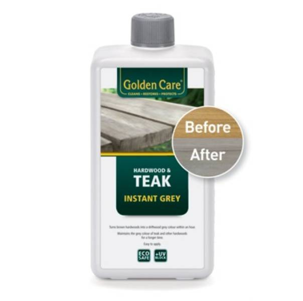 Golden Care - Teak Instant Grey vergrijzer 1ltr