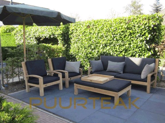 Teak loungeset Modena